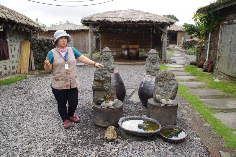 Village folklorique de Seongeup à Jeju