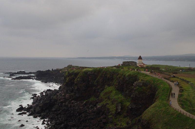 Côte littorale de Seopjikoji à Jeju