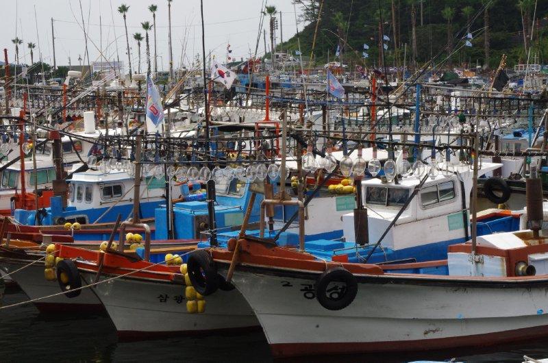 Bateaux à Jeju