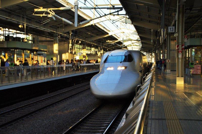Le Shinkansen, le TGV japonais ultra rapide