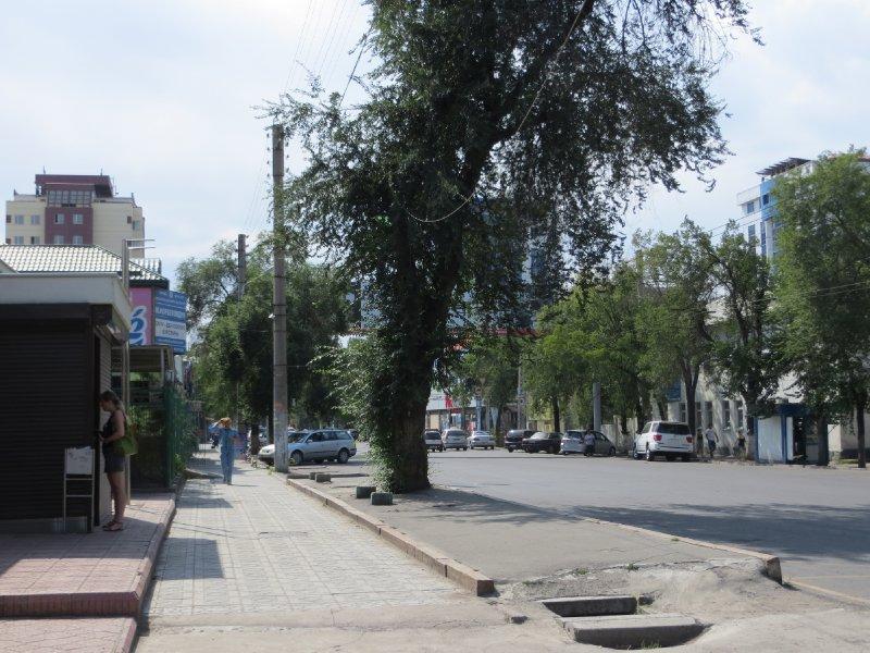 Les rues de Bichkek