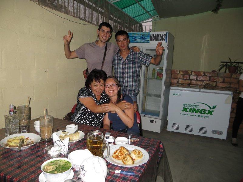 Trop gentils les kirghizes :)