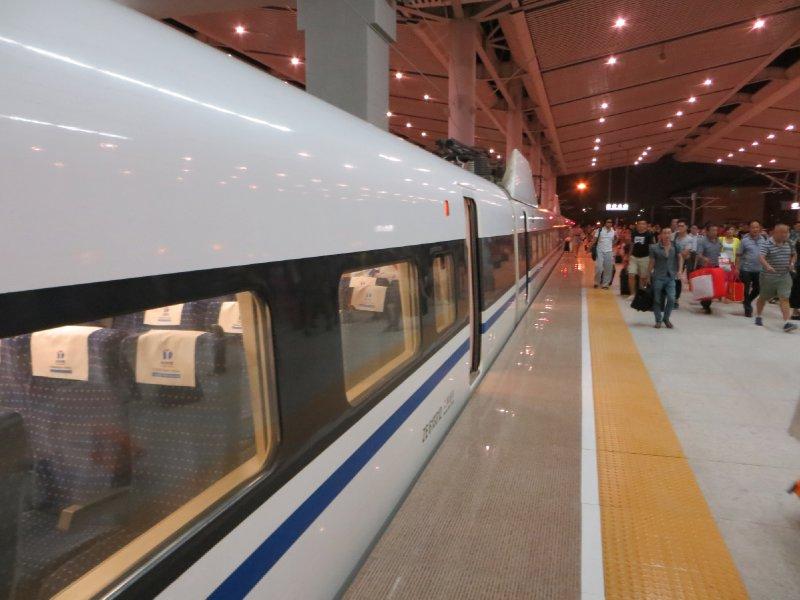 Train Pékin Xi'an