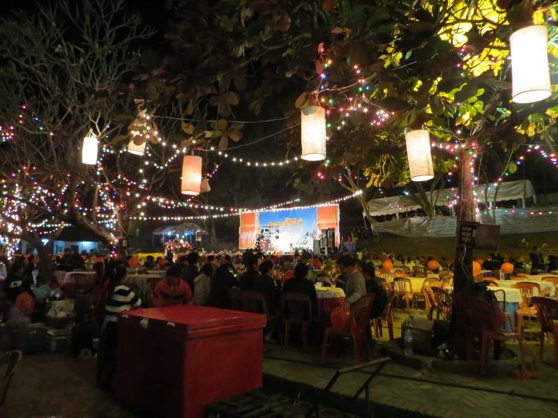 Nouvel an à Luang Prabang au Laos