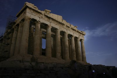 Acropolis in fullmoon 2