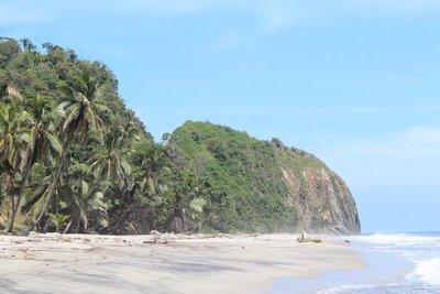 Prachtig uitzicht bij Playa la Roca Ecohotel