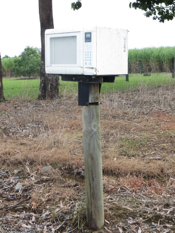 "QLD - BEST LETTER BOX ""CEDAR CREEK FALLS"""