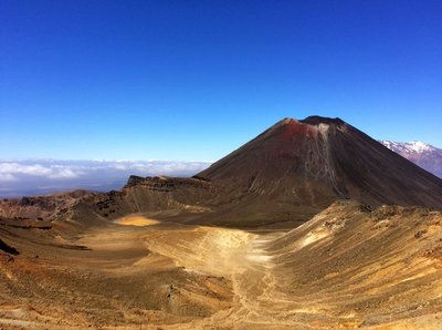View of Mt. Ngauruhoe (Mt. Doom)