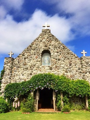 Mt. Carmel Chapel on Batan Island, Batanes.