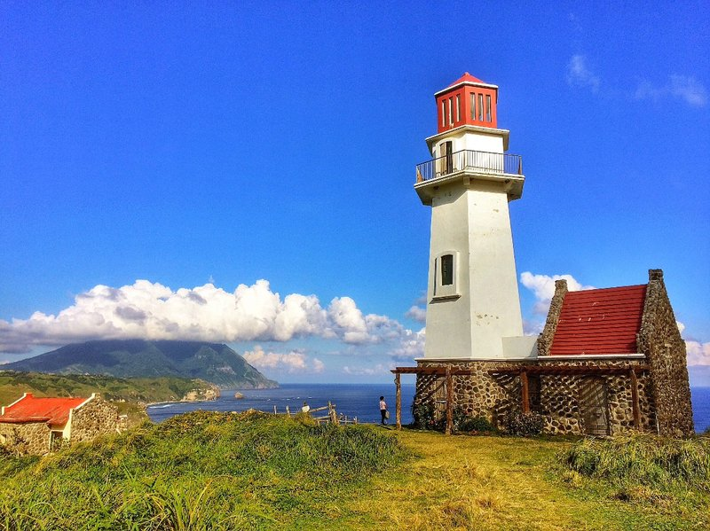Tayid Lighthouse in Mahatao, Batan Island, Batanes