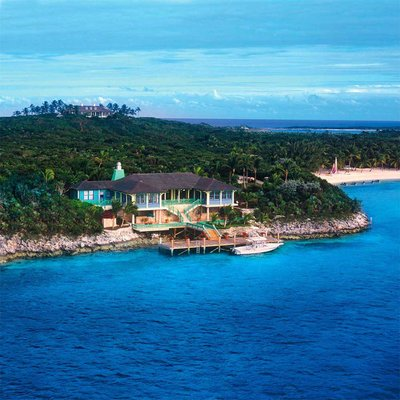 Luxury villas in Musha Cay