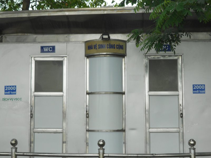 Pubic restroom
