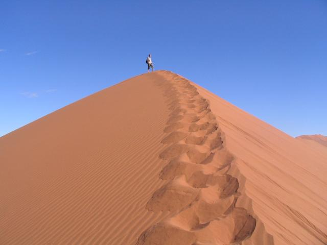 Red sand of the Namib