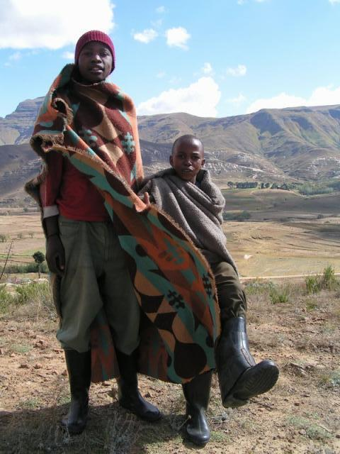 Basotho people in Lesotho