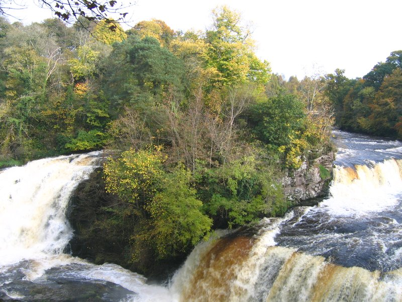 New Lanark in Autumn