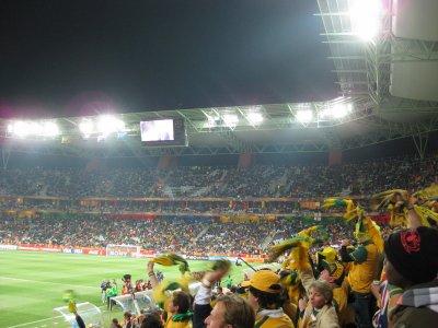 Socceroo celebrations