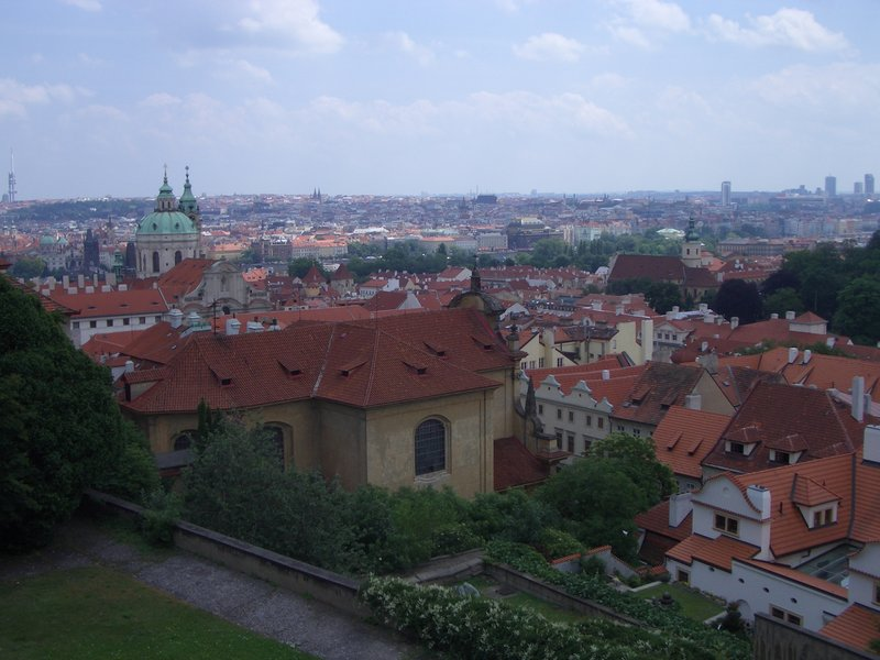Overlooking Prague
