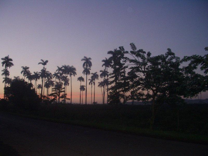 Sunrise in Vinales, Pinar del Rio