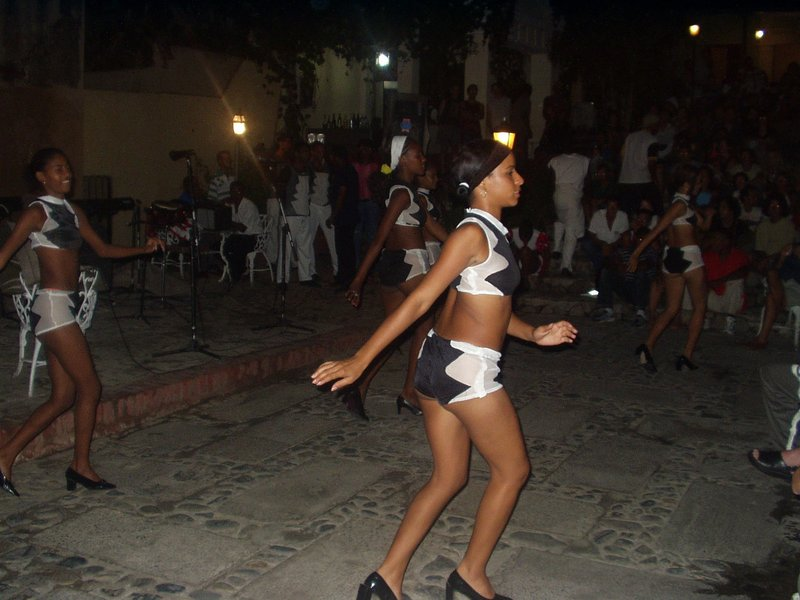 Dancers in Trinidad