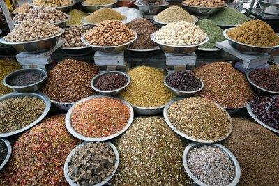 Market stand, Ahmedabad, Gujarat
