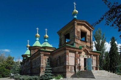 Holy Trinity Cathedral, Karakol