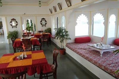 Breakfast area, Jagat Niwas Palace Hotel, Udaipur, Rajasthan