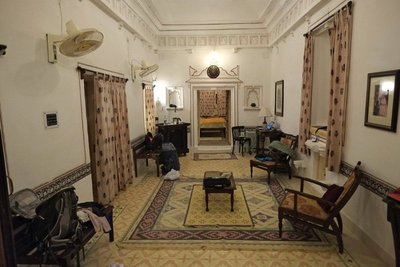 More of our room, Deogarh Palace, Rajasthan (105 euros)