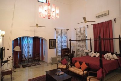 Our room, Shahpura Bagh Hotel, Rajasthan (special price)