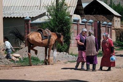 Street scene, Kyzyl Oi