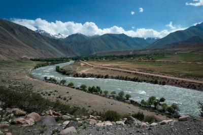 Kokomeren River, Kyzyl Oi