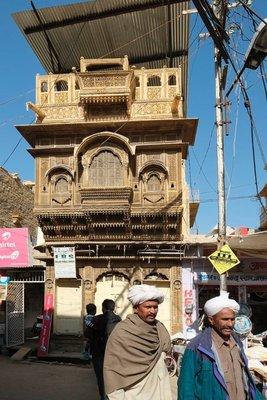 A haveli in Jaisalmer,Rajasthan