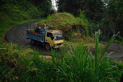 On the road, Toraja, Sulawesi