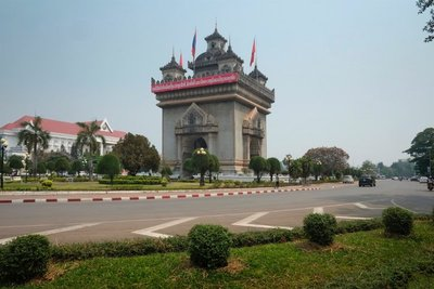 Patuxay or Victory Gate of Vientiane