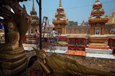 Phrathatluang Museum, Vientiane