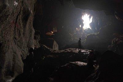 Tham Phu Kham cave near Vang Vieng