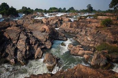 Somphamit (Li Phi) Waterfall, Don Khon