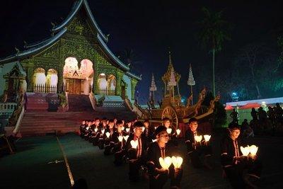 Wat Mai temple, Luang Prabang