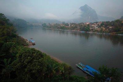 Nam Ou river Nong Khiaw
