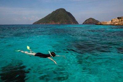 Who's that snorkeling! Perhentian Besar