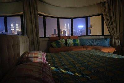 Room with a view, Kuala Lumpur