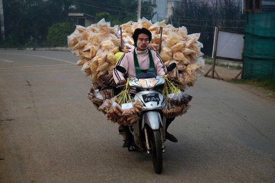 Making deliveries, Loikaw
