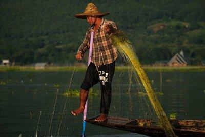 Fisherman, Lake Inle
