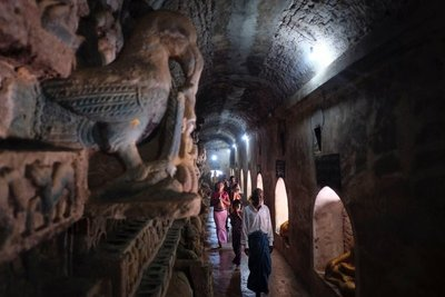 Paya Shittaung temple, Mrauk-U