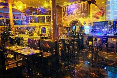 The Black Hat restaurant, Yangon