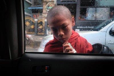 A young monk, Yangon