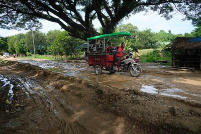 Road conditions, Mrauk-U