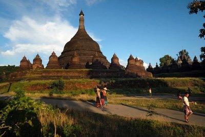 Paya Andaw temple, Mrauk U