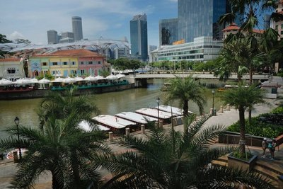 View from Clarke Quay
