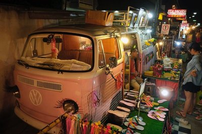 Night market, Pai, Thailand
