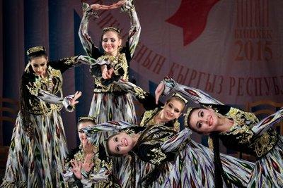 Tajik cultural performance at Bishkek Philharmonic